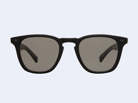 Garrett Leight Brooks X Sun (Matte Black with Pure Grey Lens)