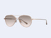 Garrett Leight Culver (Rose Gold with Semi-Flat Pink Haze Mirror Lens)