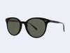 Garrett Leight Dillon Sun (Black with Pure Grey Glass)