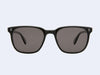 Garrett Leight Emperor Sun (Black Laminate Crystal with Black Polar Lens)