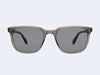 Garrett Leight Emperor Sun (Grey Crystal with Black Lens)