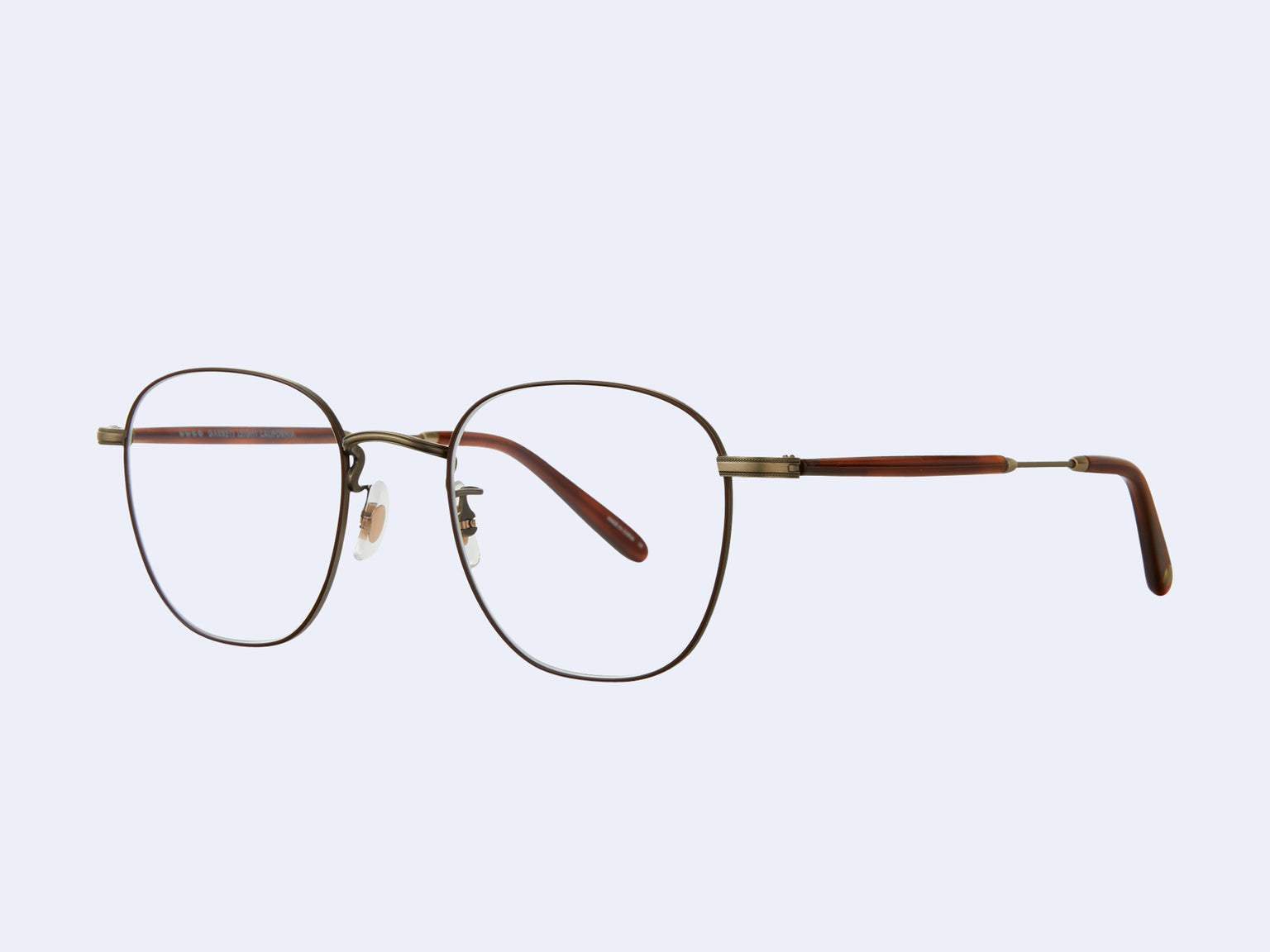 Garrett Leight Grant M (Antique Gold II-Dark Honey Tortoise)