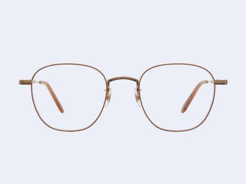 Garrett Leight Grant M (Rose Gold-Dove)
