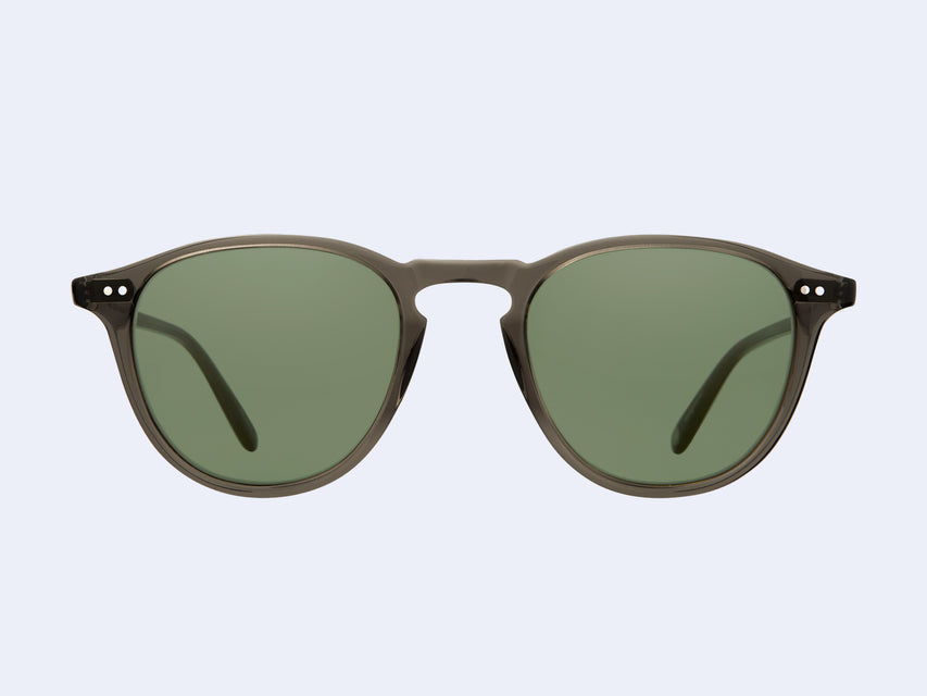 Garrett Leight Hampton Sun (Black Glass with Semi-Flat Pure G15 Lens)