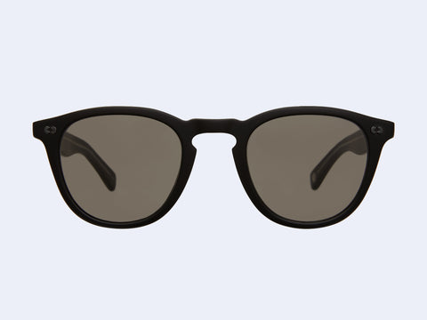 Garrett Leight Hampton X Sun (Matte Black with Pure Grey Lens)
