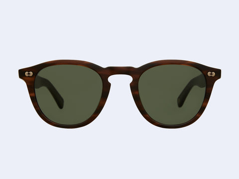 Garrett Leight Hampton X Sun (Matte Brandy Tortoise with Pure G15 Lens)