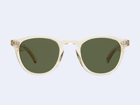 Garrett Leight Hampton X Sun (Pure Glass with Pure Green Lens)