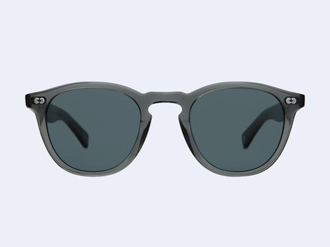 Garrett Leight Hampton X Sun (Sea Grey with Blue Smoke Lens)