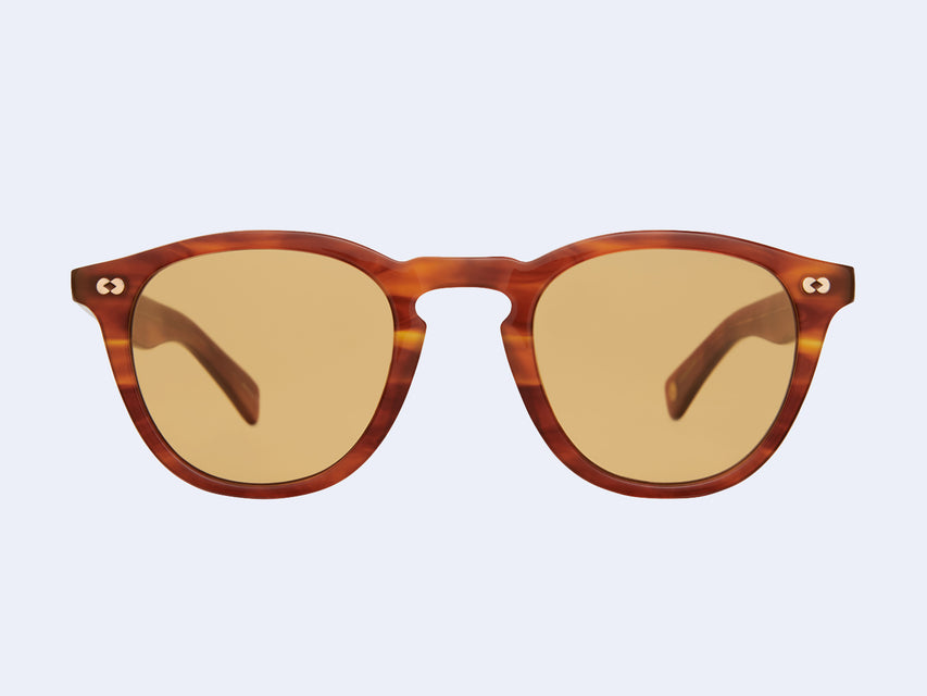 Garrett Leight Hampton X Sun (Honey Amber Tortoise with Pure Maple Lens)
