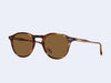 Garrett Leight Hampton Sun (Chestnut with Barley Polar Lens)