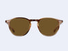 Garrett Leight Hampton Sun (Khaki Tortoise with Semi-Flat Pure Coffee Lens)