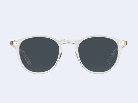 Garrett Leight Hampton Sun (Pure Glass with Semi-Flat Blue Smoke Lens)
