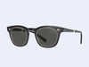 Mr Leight Hanalei S (Black Glass-12K White Gold with Lava Lens)