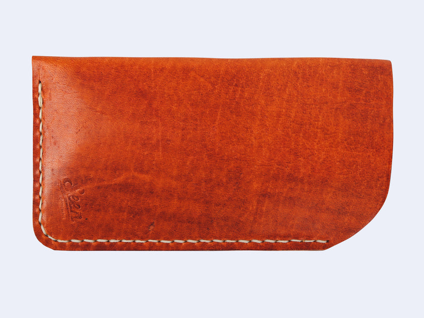 Seen Handmade Leather Slip Case (Rustic Tan)