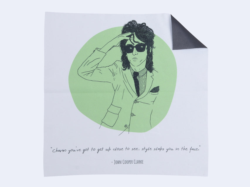 Seen Cleaning Cloth (Manchester Music / John Cooper Clarke)