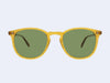 Garrett Leight Kinney Sun (Butterscotch with Pure Green Glass)