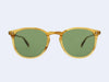 Garrett Leight Kinney Sun (Blonde Tortoise Fade with Pure Green Glass)