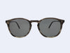 Garrett Leight Kinney Sun (G.I. Tortoise Laminate with Grey Polarised Glass)