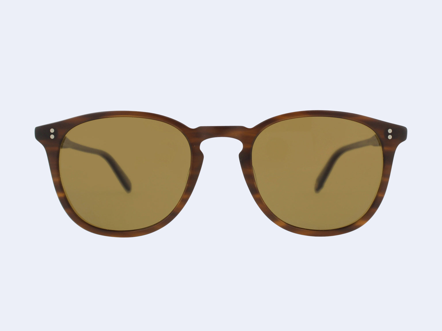 Garrett Leight Kinney Sun (Matte Brandy Tortoise with Brown Polarised Glass)