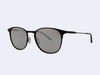 Garrett Leight Kinney M Sun (Black Glass with Black Blaze Mirror Lens)