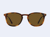 Garrett Leight Kinney (Matte Classic Brown with Semi-Flat Pure Coffee Lens)