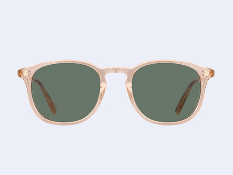 Garrett Leight Kinney Sun (Pink Crystal with Semi-Flat Pure G15 Lens)