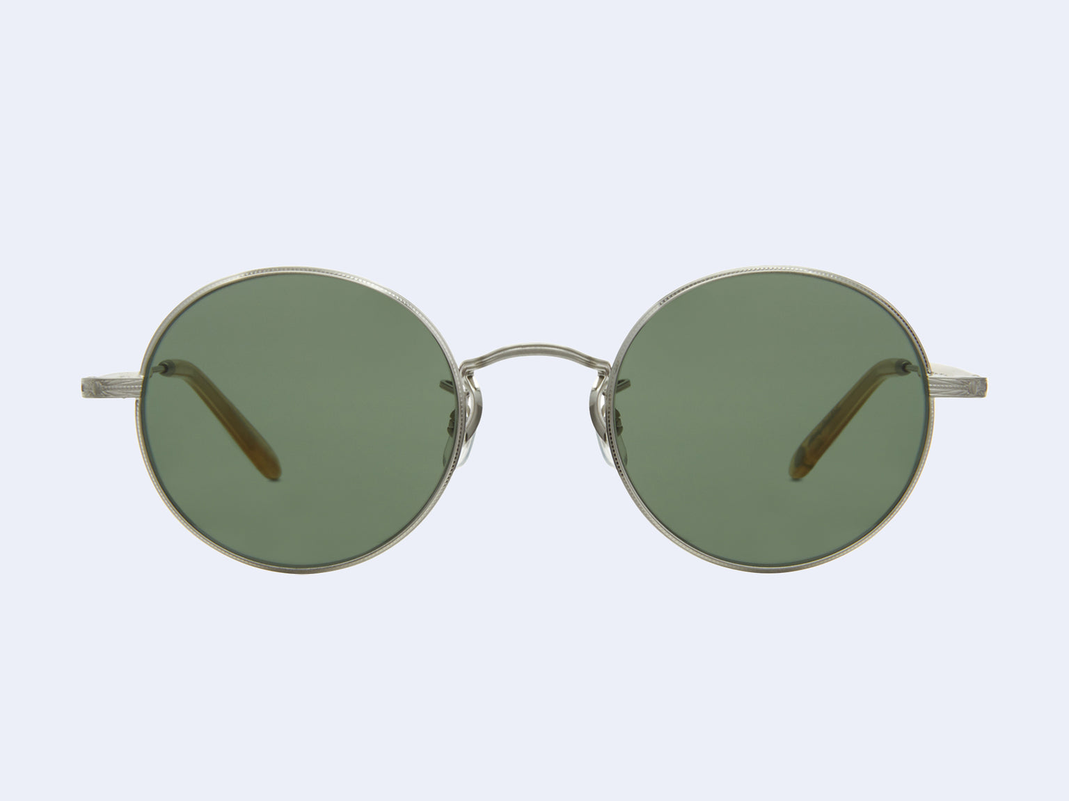 Garrett Leight Lovers (Brushed Silver-Blonde with Pure G15 Lens)