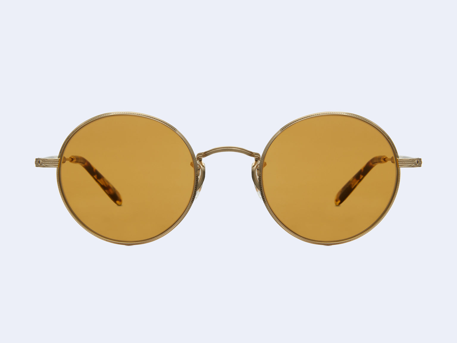 Garrett Leight Lovers (Gold-Block Tortoise with Pure Maple Lens)