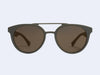 Mykita Giles Sun (Matte Grey with Brilliant Grey Solid Lens)