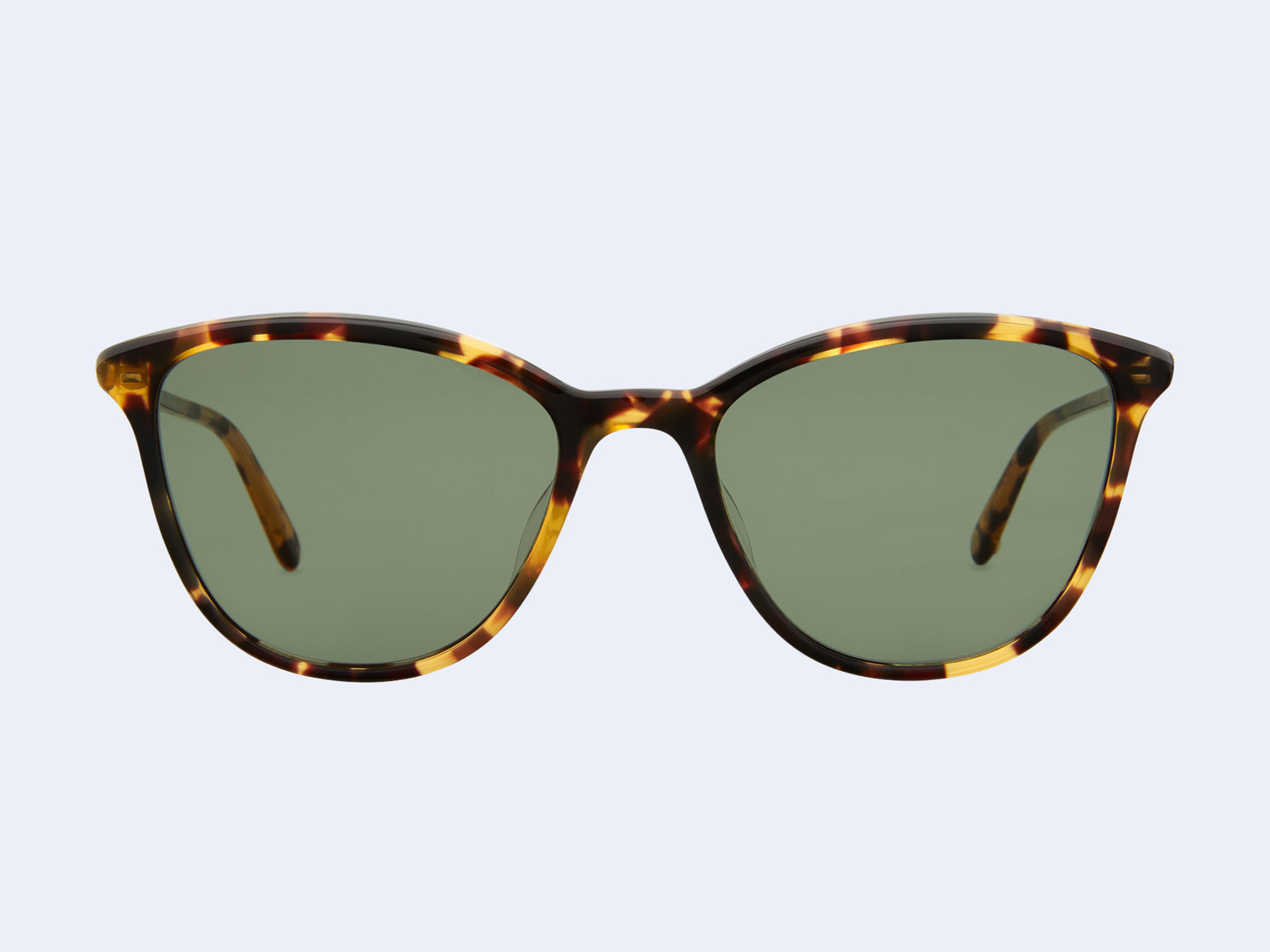 Garrett Leight Magician (Dark Tortoise with Semi-Flat Green Lens)