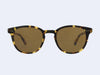 Garrett Leight McKinley Sun (Matte Dark Tortoise with Pure Coffee Lens)