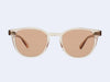 Garrett Leight McKinley Sun (Nude with Pure Salmon Lens)