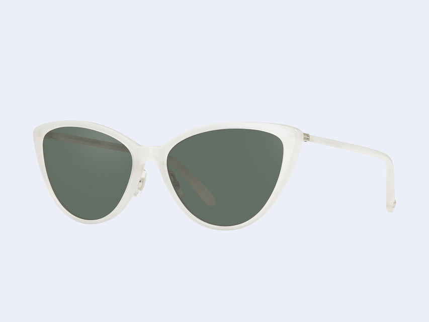Garrett Leight Mildred (Horchata-Silver with G15 Lens)