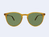 Garrett Leight Milwood Sun (Butterscotch with Pure Green Glass)