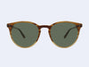Garrett Leight Milwood Sun (Matte Blonde Tortoise Fade with G15 Glass)