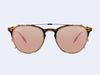 Garrett Leight Milwood Clip (Rose Gold with Pastel Pink Mirror CR-39)