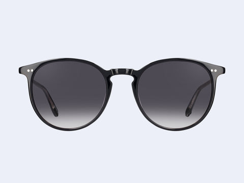 Garrett Leight Morningside Sun (Black with Semi-Flat Black Gradient Lens)
