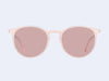 Garrett Leight Morningside (Flamingo with Semi-Flat Bubble Pink Lens)