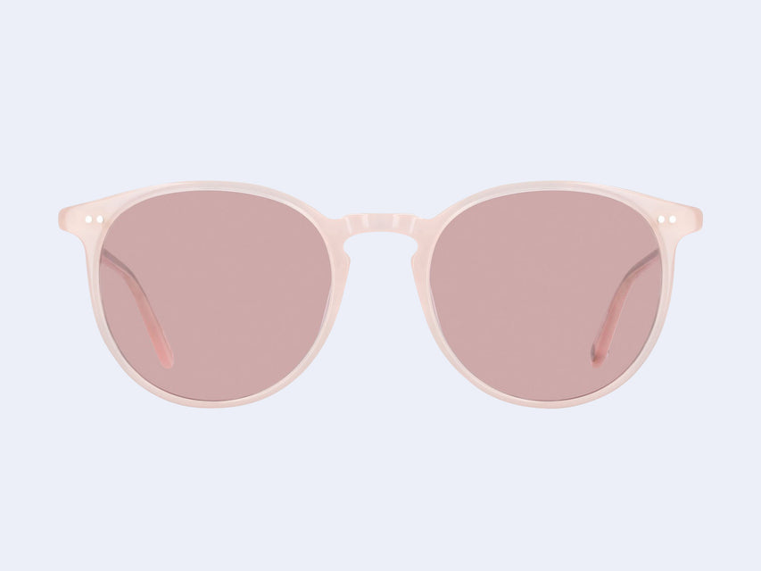 Garrett Leight Morningside Sun (Flamingo with Semi-Flat Bubble Pink Lens)