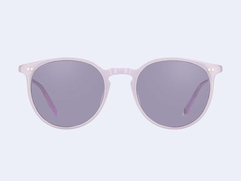 Garrett Leight Morningside Sun (Lauren with Semi-Flat Lavender Lens)