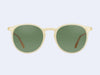 Garrett Leight Morningside (Toffee with Semi-Flat Green Lens)