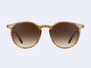 Garrett Leight Morningside (True Demi with Semi-Flat Sepia Gradient Lens)