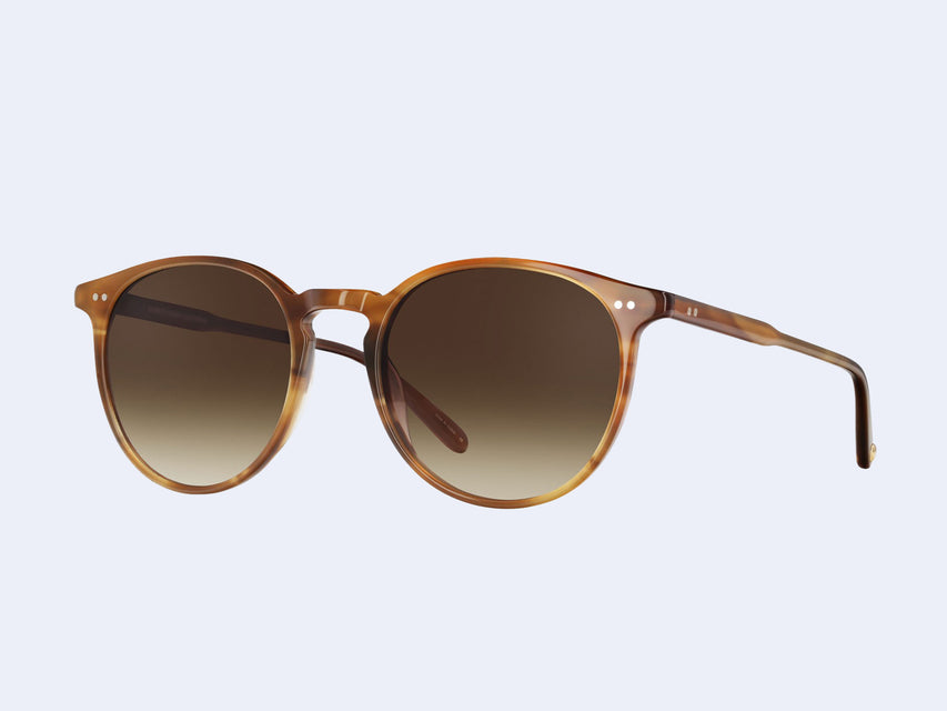 Garrett Leight Morningside Sun (True Demi with Semi-Flat Sepia Gradient Lens)
