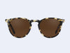 Garrett Leight Ocean Sun (Block Tortoise-Gold with Sienna Lens)
