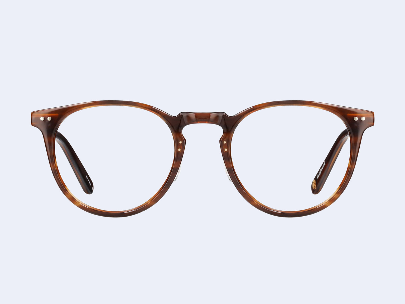 Garrett Leight Ocean (Brandy Tortoise-Brushed Gold)