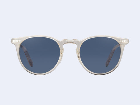 Garrett Leight Ocean Sun (Champagne with Navy Lens)