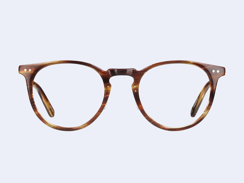 Garrett Leight Ocean (Chestnut-Gold)