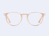 Garrett Leight Ocean (Pink Crystal-Rose Gold)