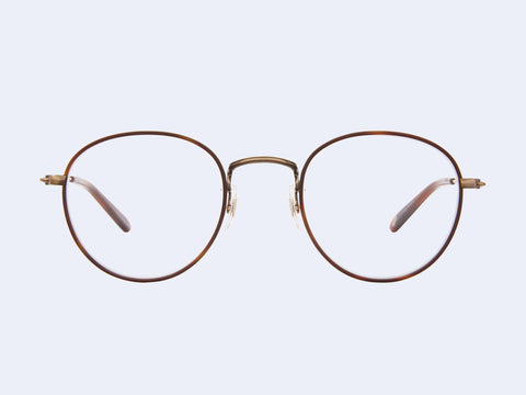 Garrett Leight Paloma (Marigold Tortoise-Brushed Gold-Dark Honey Tortoise)