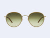 Garrett Leight Paloma Sun (Champagne-Gold-Demi Blonde with Semi-Flat Olive Gradient Lens)